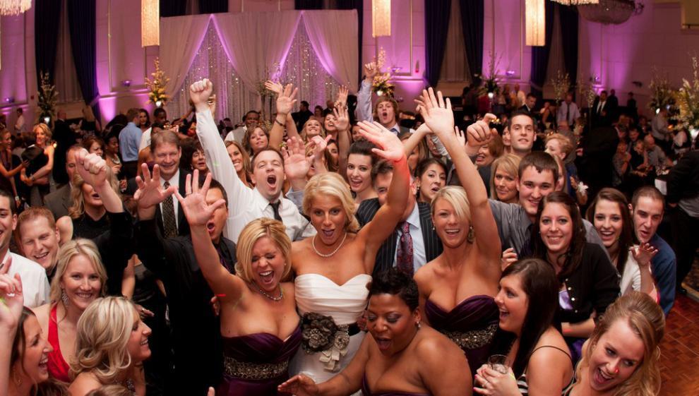 bruiloft feest DJ